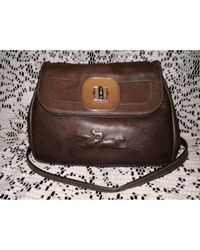 Longchamp - Brown Gatsby Leather Crossbody Bag - Lyst