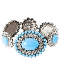 Miu Miu - Blue Plastic Bracelet - Lyst