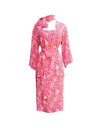 Dior - Pink Pre-owned Silk Ensemble - Lyst