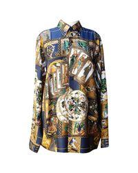Hermès - Multicolor Pre-owned Silk Shirt - Lyst