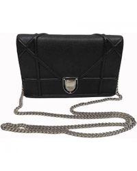 Dior - Black Pre-owned Ama Leather Crossbody Bag - Lyst