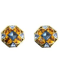 Dior - Blue Earrings - Lyst