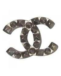 Chanel - Metallic Pin & Brooche - Lyst