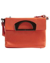 Christian Louboutin - Orange Leather Handbag - Lyst