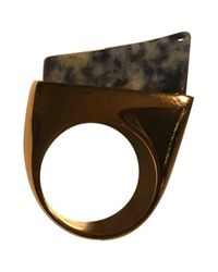 Chloé - Metallic Pre-owned Gold Metal Rings - Lyst