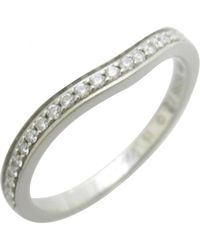 Cartier - Yellow Pre-owned Platinum Ring - Lyst