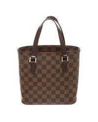Louis Vuitton - Brown Pre-owned Tote W Tote - Lyst