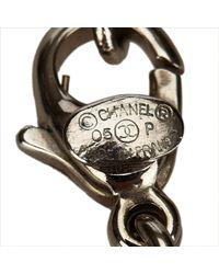 Chanel - Metallic Silver Metal - Lyst