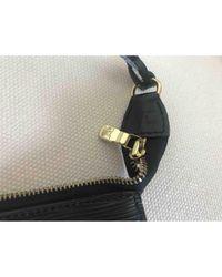 Louis Vuitton - Black Pochette Accessoire Leather Handbag - Lyst