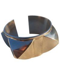 Hermès - Metallic Médor Bracelet - Lyst