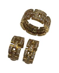 Cartier - Maillon Panthère Yellow Gold Jewellery Set - Lyst