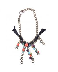 Lanvin - Metallic Pre-owned Multicolour Metal Necklace - Lyst