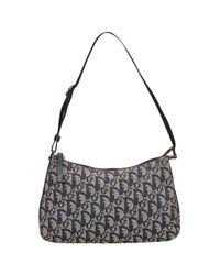 Dior - Blue Pre-owned Cloth Handbag - Lyst