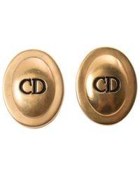 Dior | Metallic Earrings | Lyst