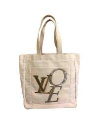 Louis Vuitton - Natural Cloth Bag - Lyst