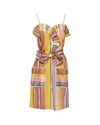 Chloé - Orange Mid-length Dress - Lyst