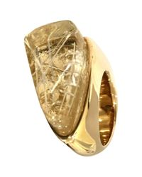 Chloé - Metallic Pre-owned Ring - Lyst