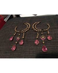 Dior - Pink Pre-owned Earrings - Lyst