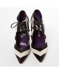 Manolo Blahnik - Black Pony-style Calfskin Heels - Lyst