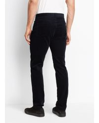 Vince - Blue 5 Pocket Stretch Corduroy for Men - Lyst