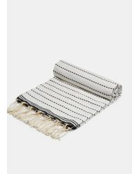 Vince - White Scents And Feel / Fouta Stitch Towel - Lyst