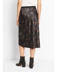 Vince | Multicolor Silk A-line Skirt | Lyst