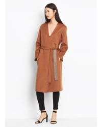 Vince - Multicolor Reversible Wool Coat - Lyst