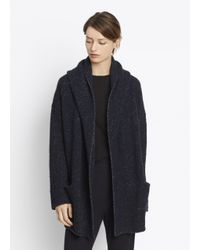 VINCE   Blue Cozy Robe   Lyst