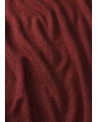 Vince - Red Cashmere Scarf - Lyst