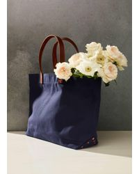Vince - Black Stanley & Sons / Canvas Tote - Lyst