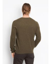 Vince - Green V-neck Crew for Men - Lyst
