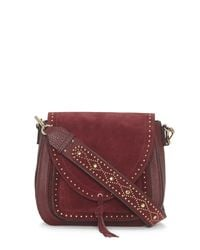 Vince Camuto - Multicolor Artea – Studded Guitar-strap Shoulder Bag - Lyst