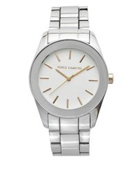 Vince Camuto | Metallic Round-dial Bracelet Link Watch | Lyst