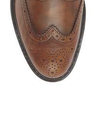 Vince Camuto - Brown Krapht – Lug-sole Wingtip for Men - Lyst