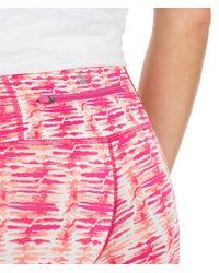 Vineyard Vines - Pink Watercolor Lines Printed Performance Leggings - Lyst