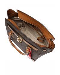Michael Kors - Brown 'hamilton' Shoulder Bag - Lyst
