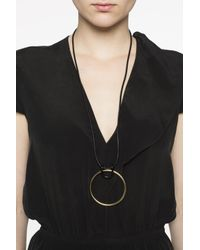 Isabel Marant - Multicolor Leather Necklace - Lyst