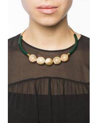 Marni - Multicolor Necklace With Beads - Lyst