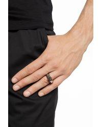 Alexander McQueen - Metallic Ring With Skull for Men - Lyst