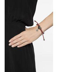 Alexander McQueen - Multicolor Leather Bracelet - Lyst