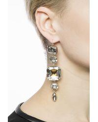 Isabel Marant - Metallic Hanging Earrings - Lyst