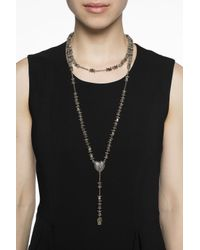 Givenchy - Metallic Chaplet-inspired Necklace - Lyst