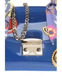 Furla Blue 'candy' Shoulder Bag