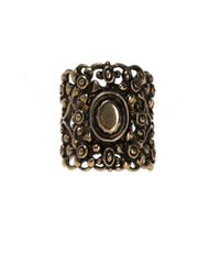 Gucci - Multicolor Metal Ring - Lyst