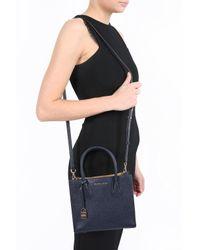 Michael Kors - Blue 'mercer' Shoulder Bag - Lyst