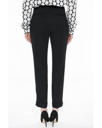 Etro - Black Pleat-front Trousers - Lyst