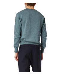Vivienne Westwood | Classic Round Neck Jumper Green for Men | Lyst