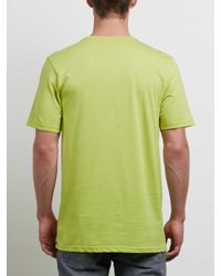 Volcom - Green Classic Stone Tee for Men - Lyst