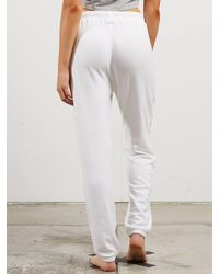 Volcom - White Lil Fleece Pants - Light Purple - L - Lyst