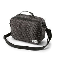 Volcom Black Brown Bag Lunch Box